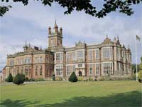 Crewe Hall, makes an excellent Wedding Venue