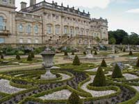 Ornate gardens, making an ideal wedding venue