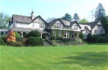 Linthwaite House Hotel, Bowness, Windermere. The Lake District
